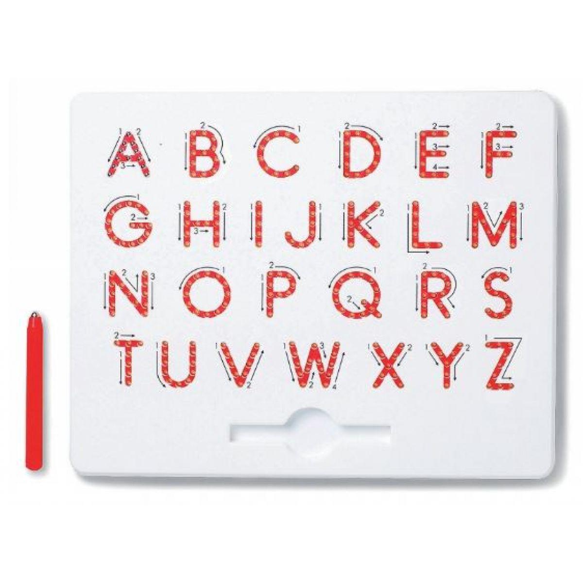 Magpad Magnetická kreslící tabule ABC Velká písmena