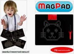 MAGPAD Magnetická kreslící tabule černá