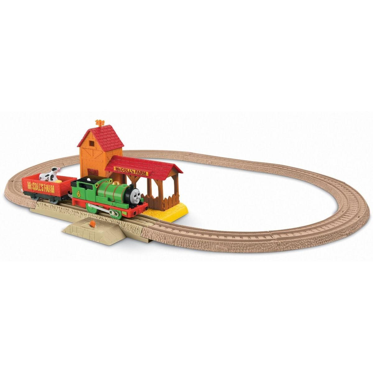 Mašinka Tomáš TrackMaster Sada - Percys day at the farm
