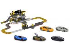 Majorette Creatix Závodní dráha Lamborghini + 5 autíček