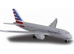 Majorette Letadlo 13cm American Airlines