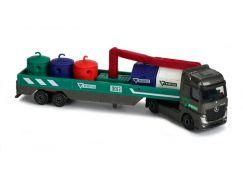 Majorette nákladní auto, kovové Mercedes-Benz M-Recycle