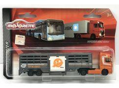 Majorette nákladní auto, kovové Mercedes-Benz TP Market