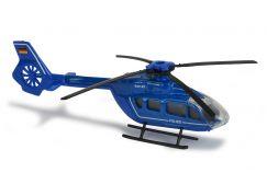 Majorette Vrtulník kovový 13 cm EC 145 Modrá Policie