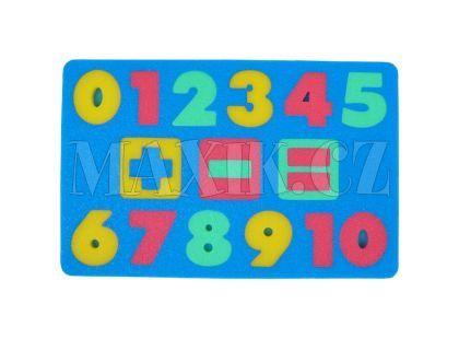 Malý Génius Pěnové puzzle Čísla