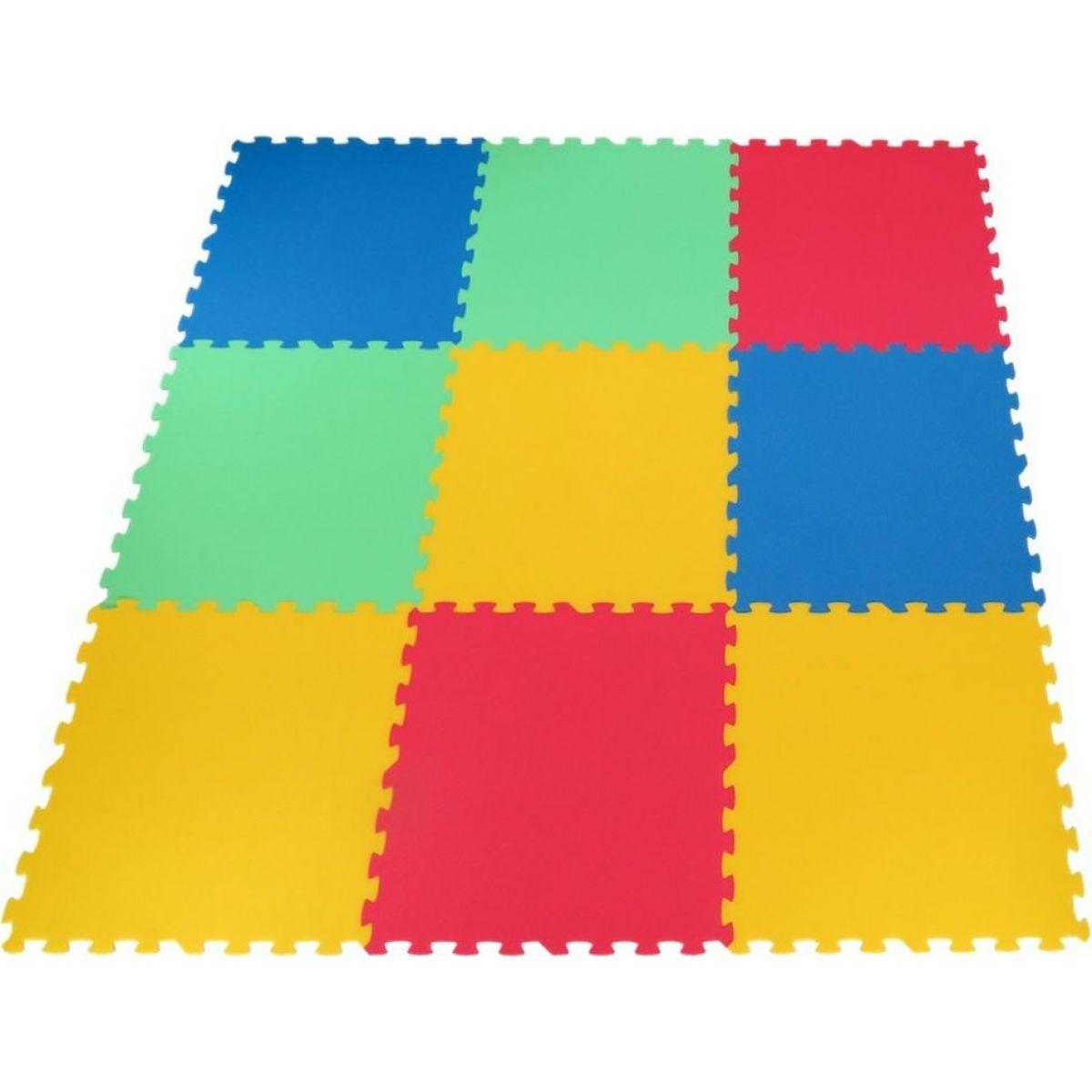 Malý Génius Pěnový koberec 9 dílů 8 mm