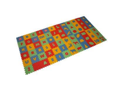 Malý Génius Pěnový koberec mix 72 dílů