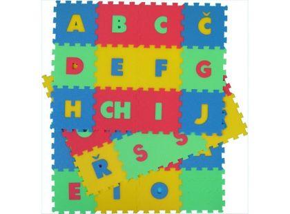 Malý Génius Pěnový koberec písmena 36 dílů