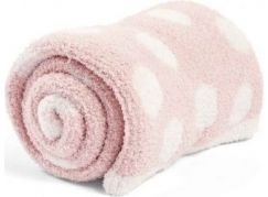 Mamas & Papas Pletená deka žinylka růžová