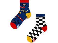 Many Mornings Dětské ponožky Formula Racing 31-34