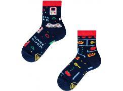 Many Mornings Dětské ponožky Game Over 23-26