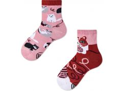Many Mornings Dětské ponožky Playful Cat 27-30