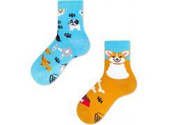Many Mornings Dětské ponožky Playful Dog 27-30