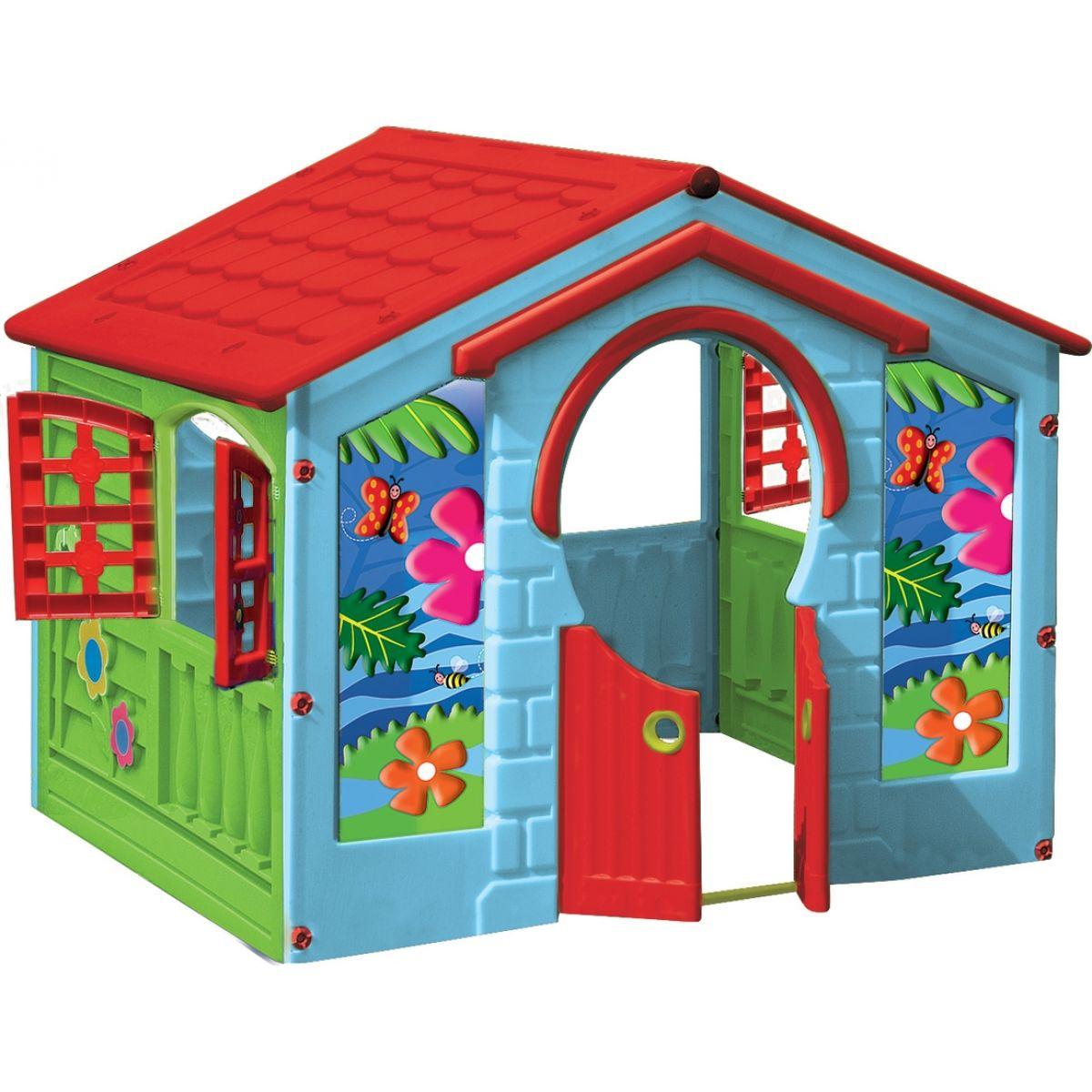 Marian Plast Dětský domeček Happy House Farmářský zelený
