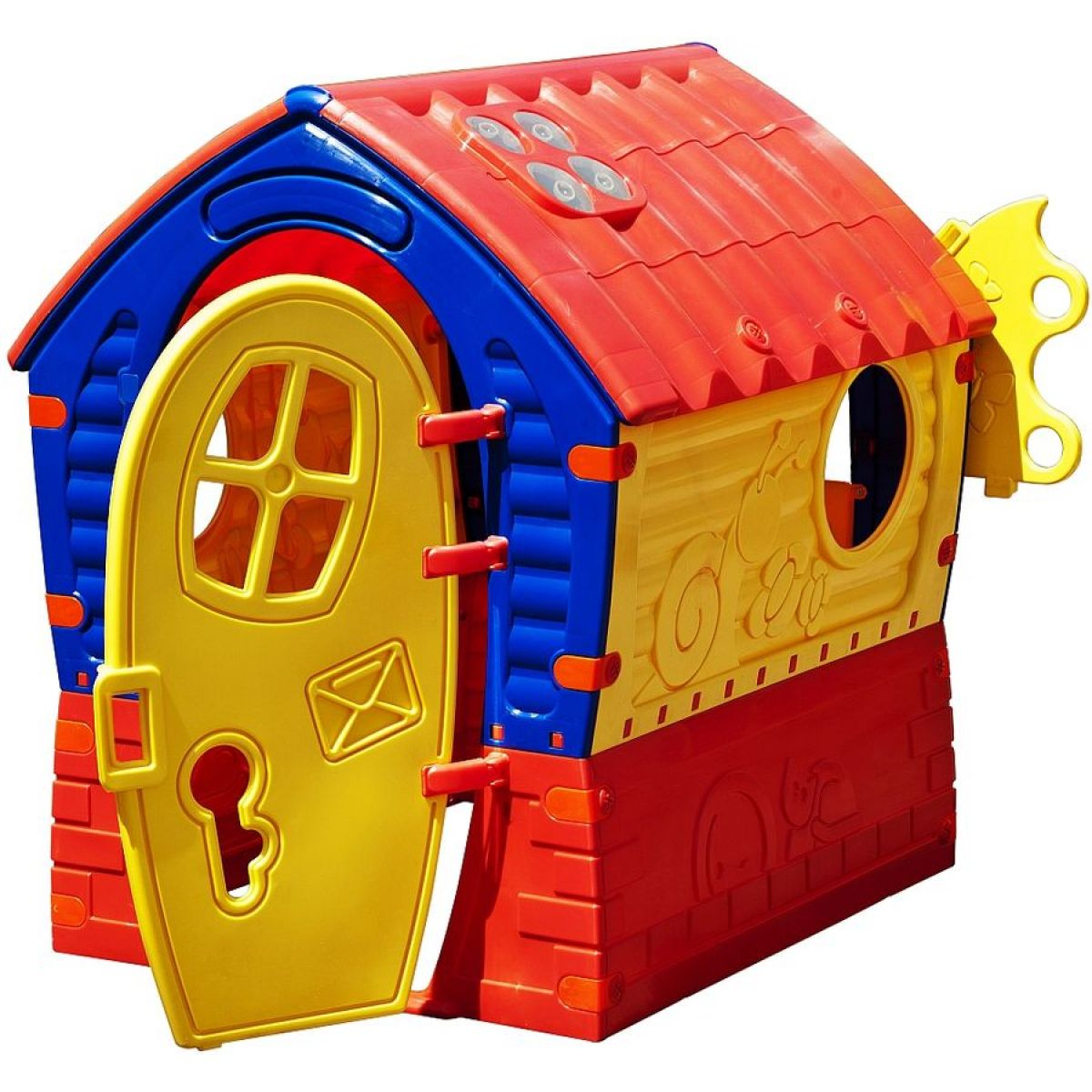Marian Plast Domeček Dream House - červeno-žlutý