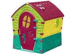 Marian Plast Domeček Dream House - žluto-zelený