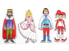Marionetino Královská sada I - scéna s figurkami