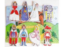 Marionetino Královská sada I + II - scéna s figurkami