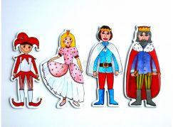 Marionetino Papírové loutky Královská sada