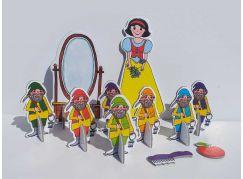 Marionetino Sněhurka a sedm trpaslíků