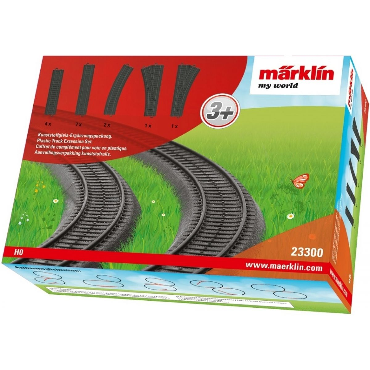 Märklin My World 23300 Sada kolejí