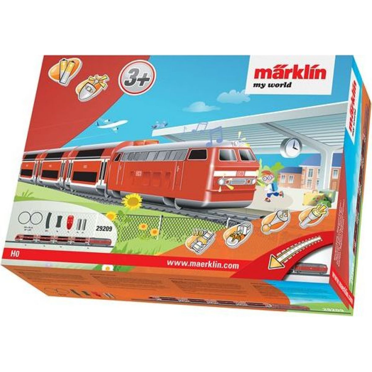 Märklin My World 29209 IRC Vlak Regional Express a koleje