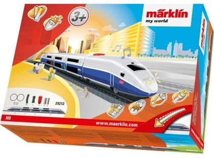 Märklin My World 29212 IRC vlak TGV Duplex a koleje