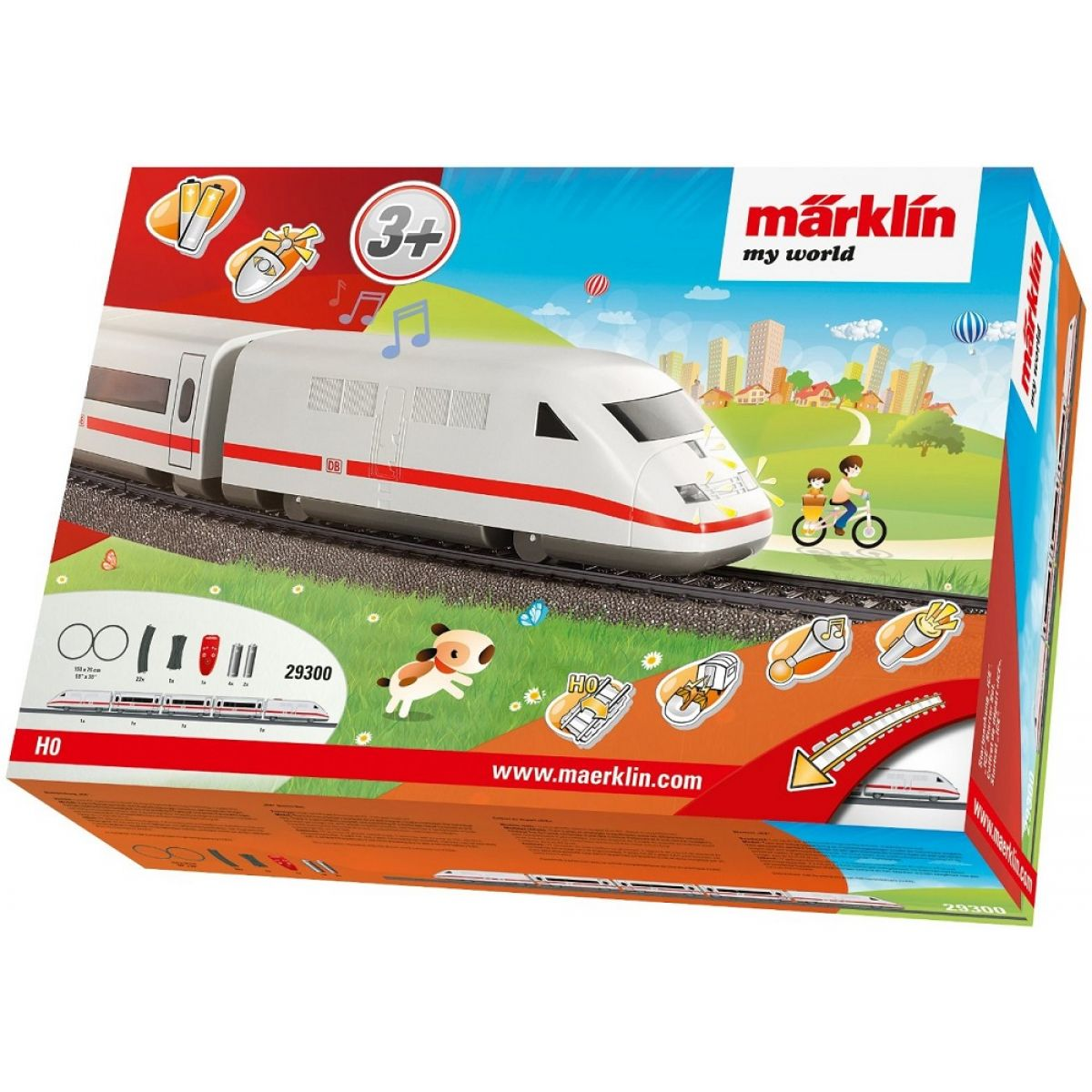 Märklin My World 29300 IRC vlak Ice a koleje