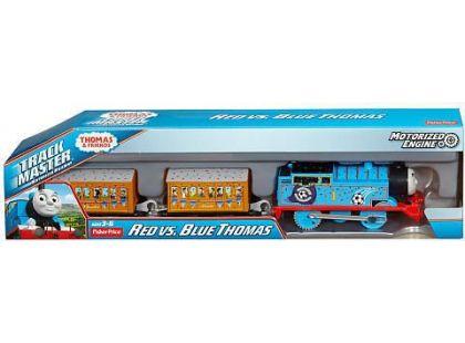 Mašinka Tomáš TrackMaster motorové mašinky - Red vs. Blue Thomas DFM83