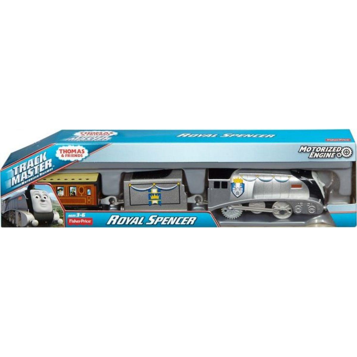 Mašinka Tomáš TrackMaster motorové mašinky - Royal Spencer DFM85