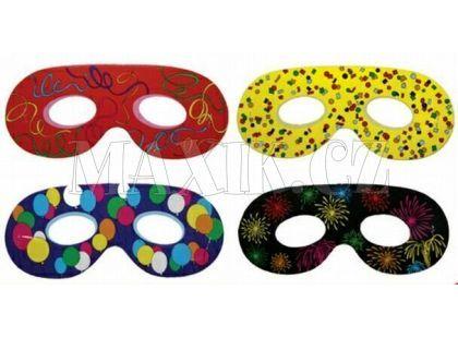 Maska oční klasická 6ks