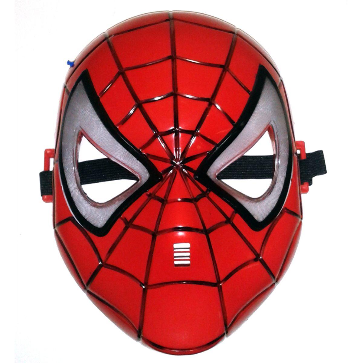 Maska pavoučího bojovníka svítící