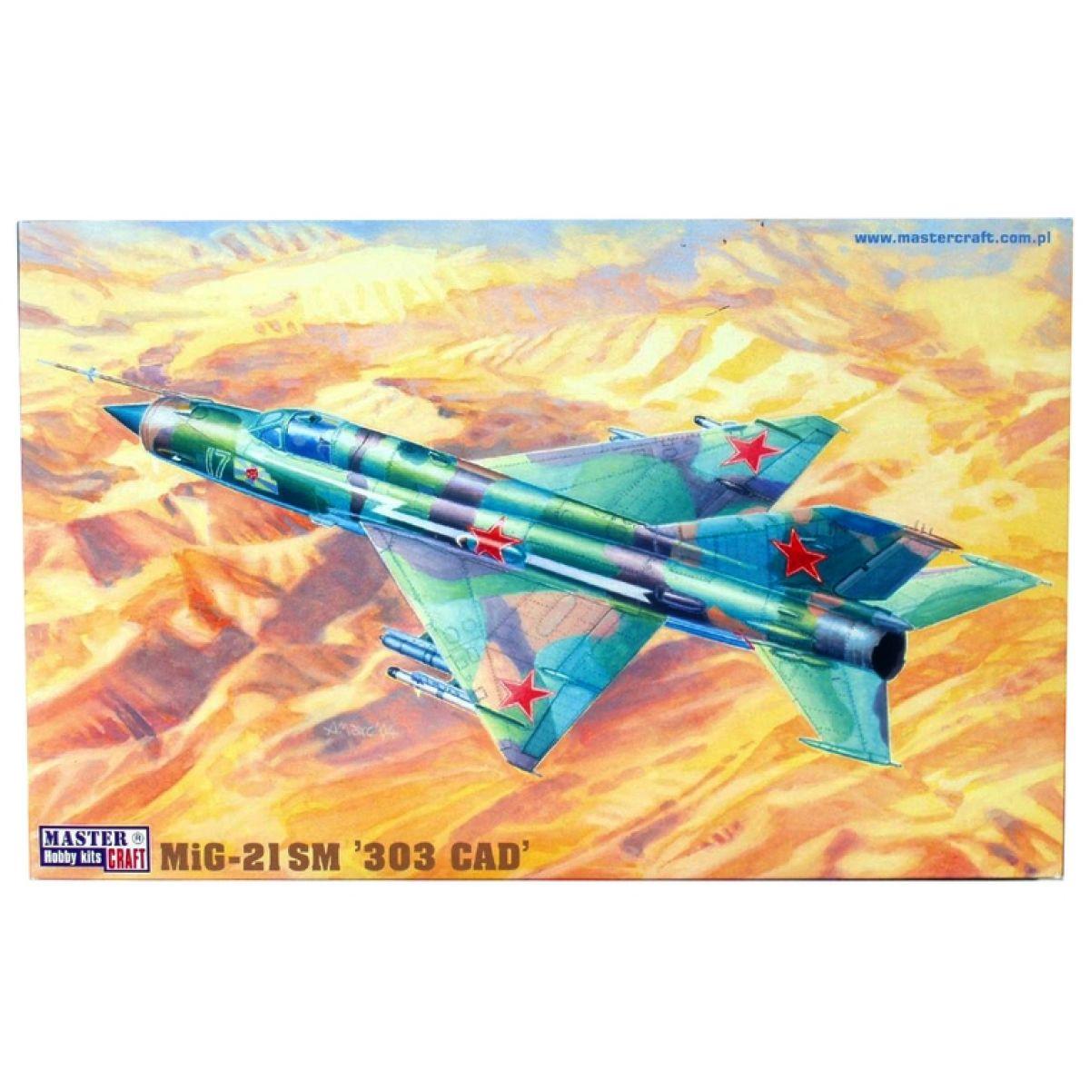 Master Craft Bojový letoun MiG-21SM 303 Cap - Série III