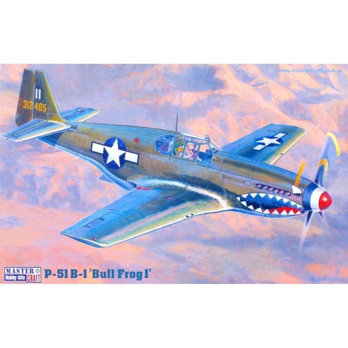 Master Craft Bojový letoun P-51B-1 Mustang Bullfrog - Série III