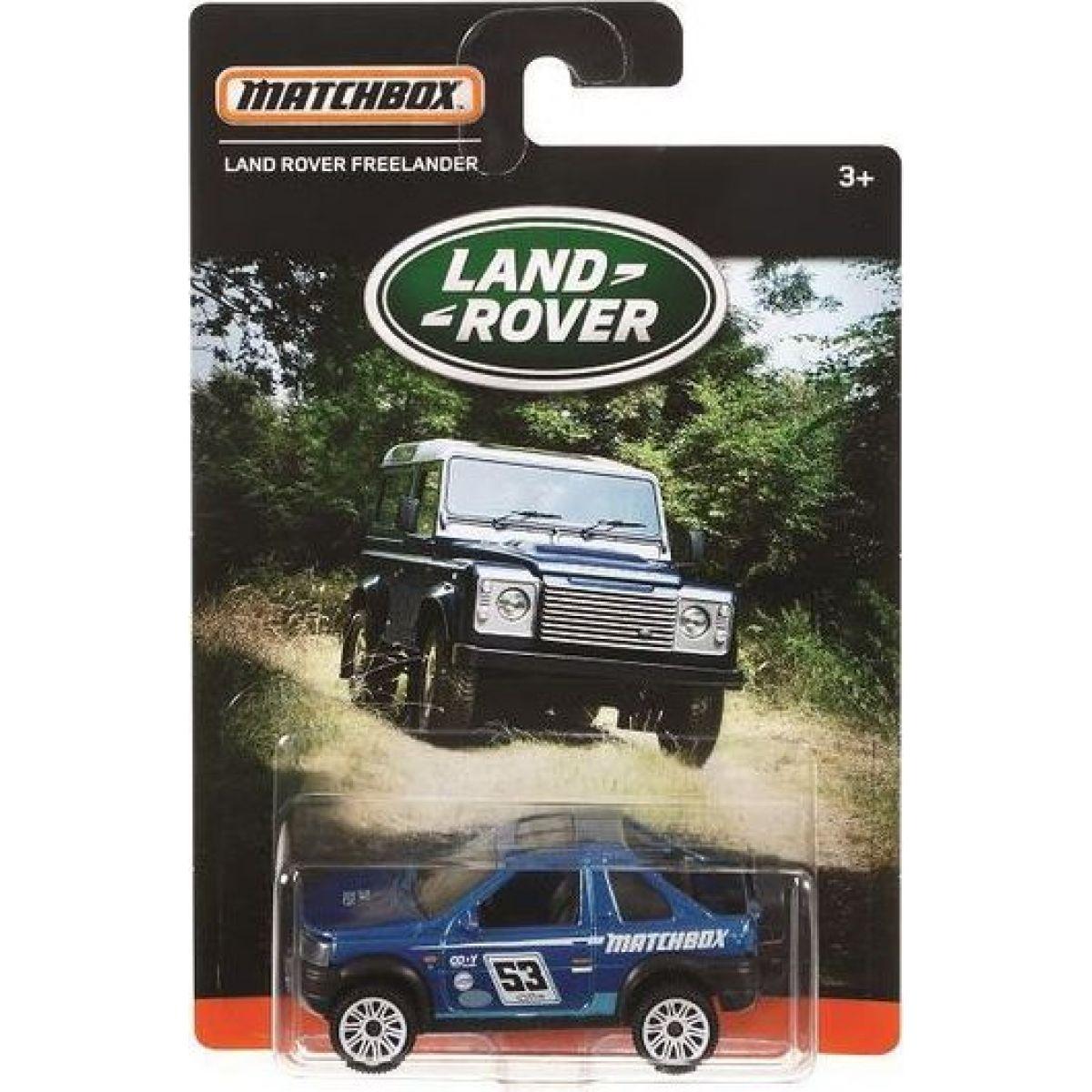 Matchbox angličák Land Rover Freelander