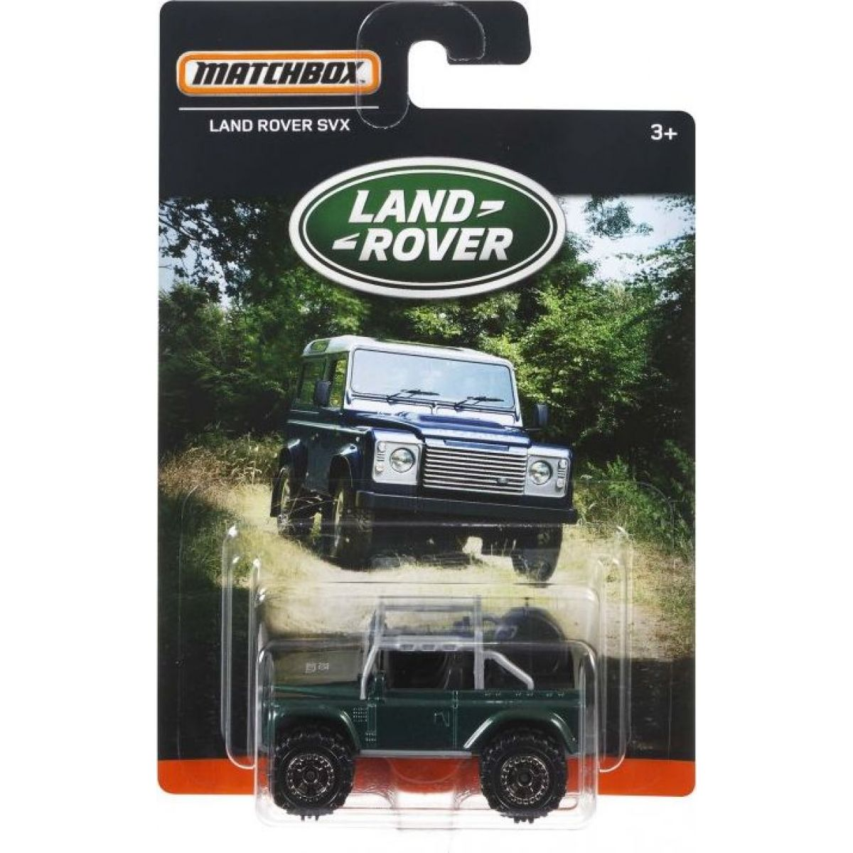 Matchbox angličák Land Rover SVX