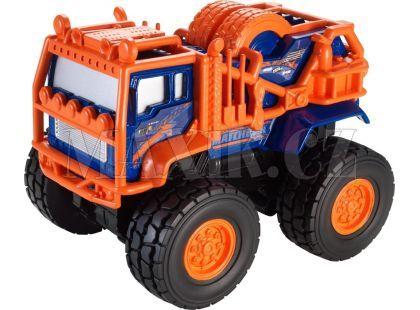 Matchbox Auta na setrvačník - Kamion modro-oranžový