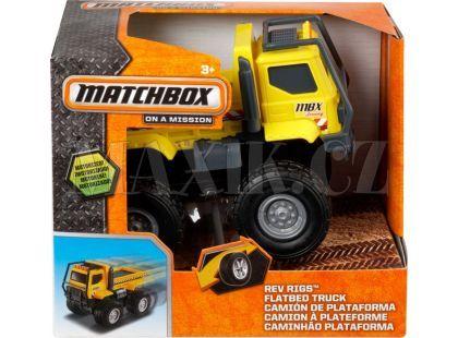 Matchbox Auta na setrvačník - Nákladní s korbou žluté