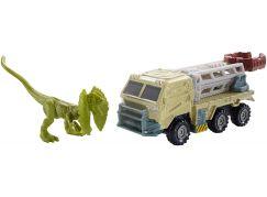Matchbox Jurský svět Dino transportéři Dilopho - Loader