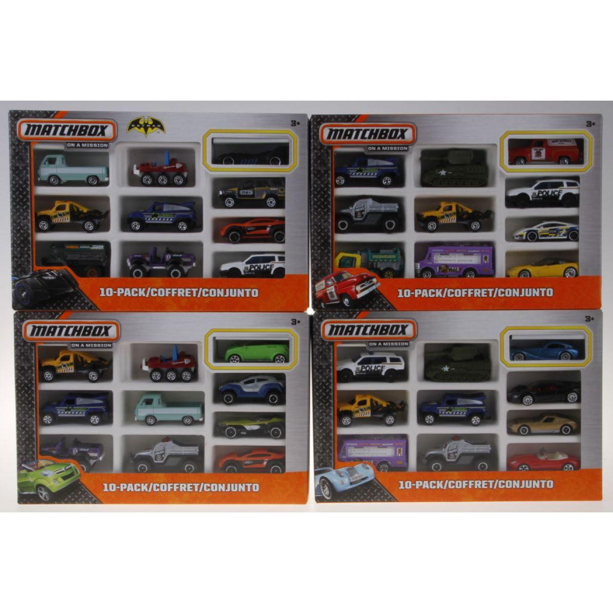 Matchbox Sběratelská auta + 1 exkluzivní