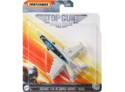 Matchbox Top Gun letadla Boeing F-A-18 Super Hornet Hangman