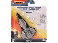 Matchbox Top Gun letadla Darkstar
