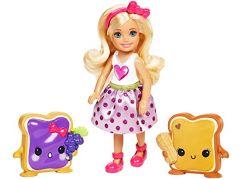 Mattel Barbie Chelsea a sladké dobroty Dva toustíky