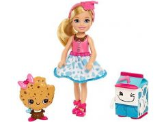 Mattel Barbie Chelsea a sladké dobroty Mléko a sušenka