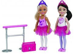 Mattel Barbie Chelsea Dvojitý set Baletky