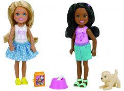 Mattel Barbie Chelsea Dvojitý set Pejsek