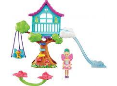 Mattel Barbie Chelsea s domkem na stromě herní set