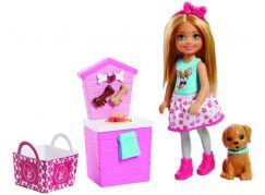 Mattel Barbie Chelsea Vaření a pečení růžový stánek pro pejska