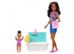 Mattel Barbie Chůva Herní set FXH06