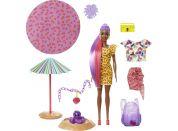 Mattel Barbie Color Reveal panenka pěna plná zábavy Jahoda